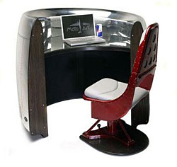 727 Engine Cowling Receptionist Desk