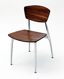 Recurve Chair All Wood