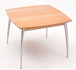 Arc Wood Breakfast Table